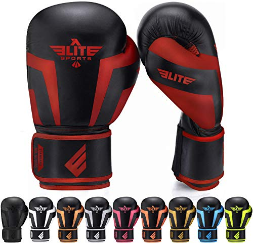 Elite Sports Boxing Gloves for Men, Women, and