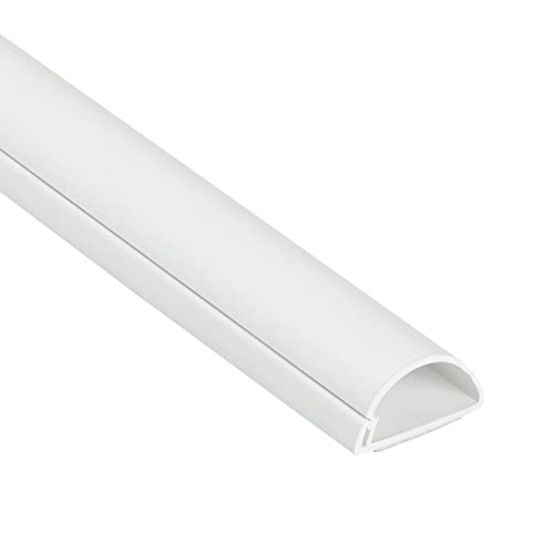by D-Line D-Line 1.5mtr 2x75cm Black 30x15 Cable Wire Cover for Hiding TV cables dline Trunking 6 colours to choose from