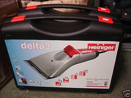 Esquiladora heiniger Delta 3230V 180W para Vacas y Caballos