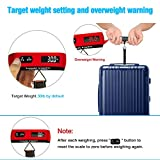 travel inspira 110LB Digital Luggage Scale with