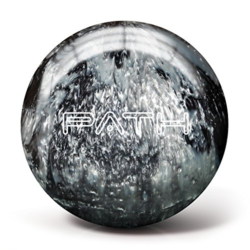 Pyramid Path Bowling Ball (Black/Silver, 12LB)
