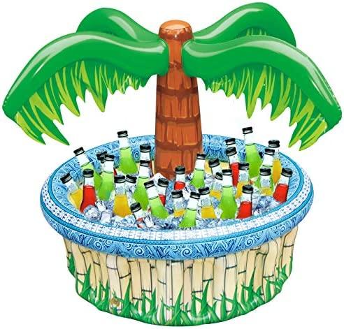 Inflatable Cooler Beach Supplies Hawaiian product image