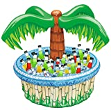 """Toys : 28"""" Inflatable Palm Tree Cooler, Beach Theme Party Décor, Party Supplies for Pool Party, Luau Party and Hawaiian Party"""