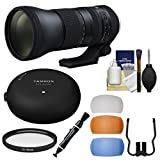 Tamron 150-600mm f/5-6.3 G2 Di VC USD Zoom Lens with Tap-in Console + Filter + Flash Diffusers Kit for Nikon DSLR Cameras