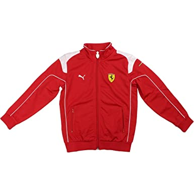 9e9758cfed3333 PUMA Mens Ferrari Track Jacket Outerwear Black at Amazon Men s Clothing  store