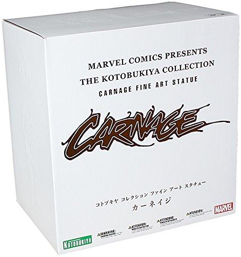 Kotobukiya Marvel Comics Maximum Carnage Fine Art Statue - Fine Art Statue