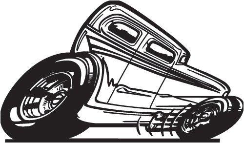 Rods N Rides Vehicle Vector Clipart Vinyl Cutter Slgn