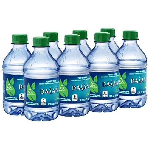 Water Bottle Dasani: DASANI Purified Water Bottles Enhanced With Minerals, 12