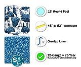Smartline Pacific Ice 18-Foot Round Liner | Overlap