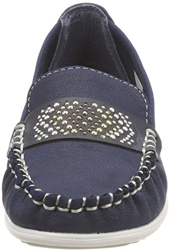 Supremo Women's 4821501 Moccasins Blue (Navy) wPJCSpwF