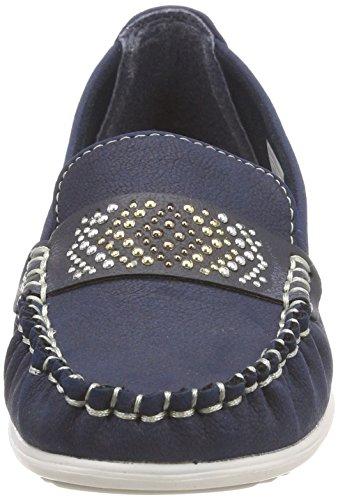 Blue Moccasins navy 4821501 Supremo Women's wf4Bvv