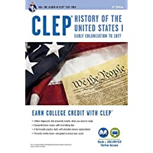 CLEP® History of the U.S. I Book + Online