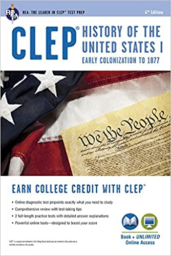 Clep history of the us i book online clep test preparation clep history of the us i book online clep test preparation 6th edition fandeluxe Images