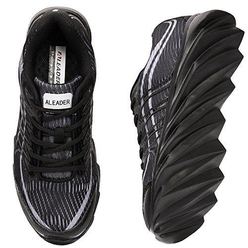 Aleader Performance - Zapatillas de nordic walking de Material Sintético para mujer All Black