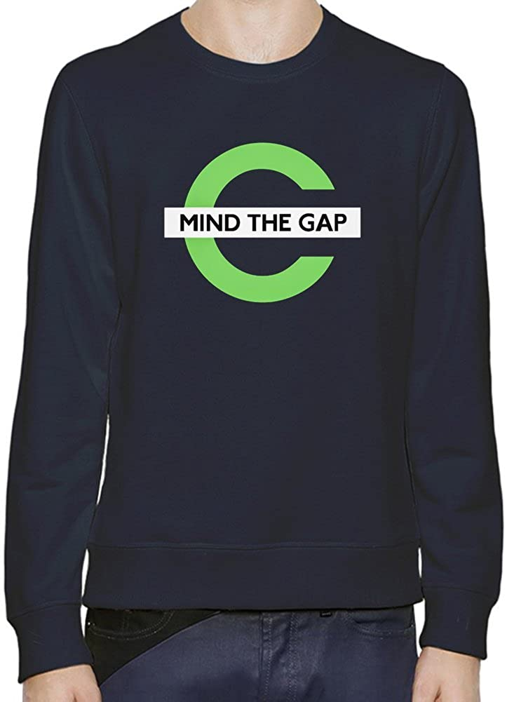 Mind The Gap Sudadera Hombres Mujeres XX-Large: Amazon.es: Ropa y accesorios