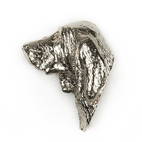 BLOODHOUND Made in U.K Artistic Style Dog Clutch Lapel Pin Collection ()