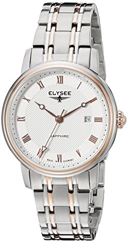 ELYSEE Women's 77009 Ladies-Edition Analog Display Quartz Silver Watch