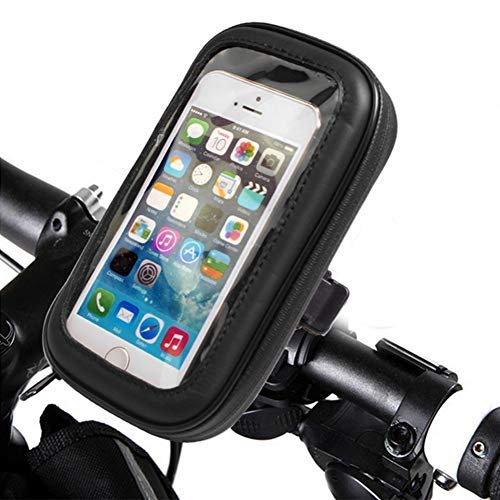 6 Plus and Android Gisian 7 8 Plus 6 8 Bike Water Resistant Phone Mount Holder,Universal Bicycle Motorcycle Handlebars Adjustable Cell Phone Holder Compatible iPhone X Bike Phone Mount 7 Plus