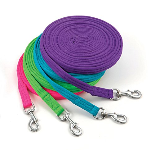 Lunge Line - Shires Soft Feel Lunge Line, Green - 8M/26