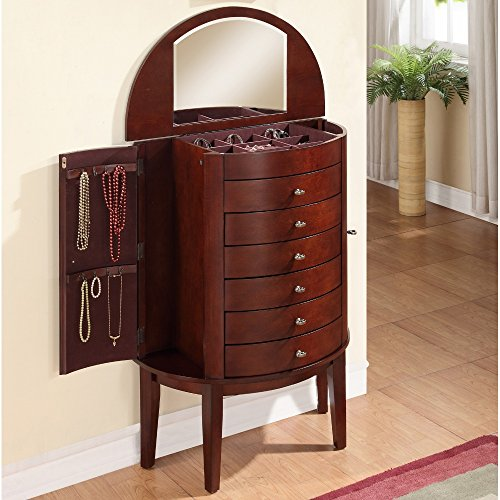 powell-demi-mahogany-jewelry-armoire-with-6-drawers-and-mirror-brown