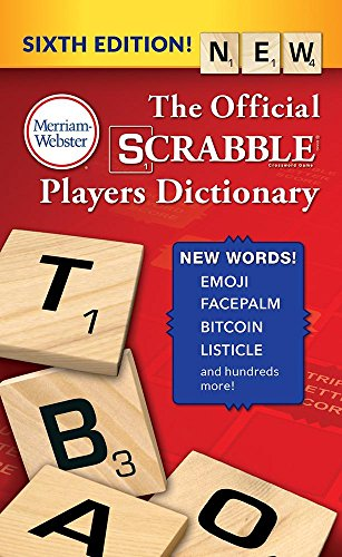 The Official SCRABBLE Players Dictionary, Sixth Edition (mass market paperback) (Scrabble Edition)