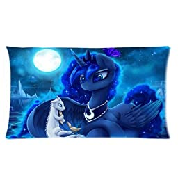 My Little Pony Love Princess Luna Custom Design Pillowcase Pillow Sham Pillow Cushion Case Cover Two Sides Printed 20x36 Inches