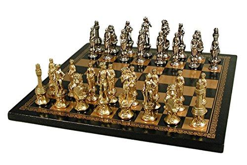 Juego de ajedrez Italfama Florence Men en tablero de cuero