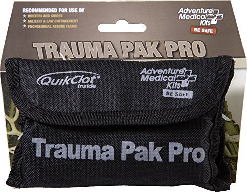 Adventure Medical Kits (Adventure Medical Kits Trauma Pak Pro First Aid Kit with Quikclot and Tourniquet)