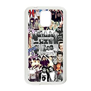 Happy One Direction Boys Cell Phone Case for Samsung Galaxy S5