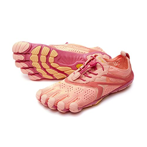 - Vibram Women's V Running Shoe, Pink/Red, 40 EU/8.5-9.0 M US B EU
