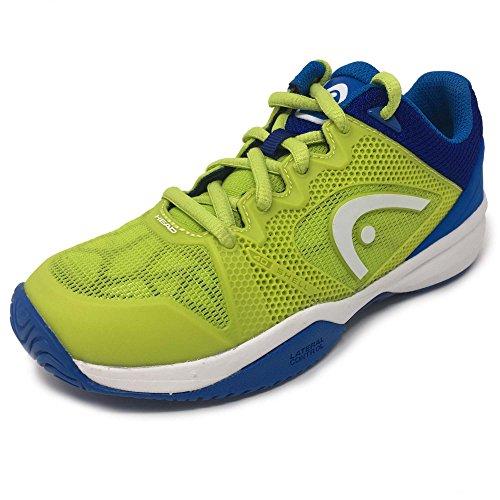 Hoofd Opstand Pro 2,5 Junior Tennis Schoenen - Groen / Blauw