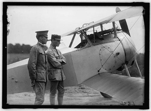 Photo: French Nieuport Plane,type 17,Captain JC Bartolf,Langley (Nieuport Type)