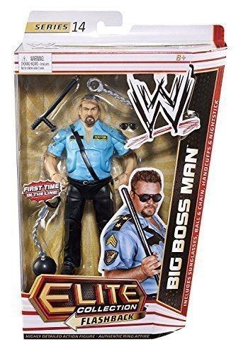 Wrestling Wwe Actionfigur Elite Serie 14 Big Boss Man Mit
