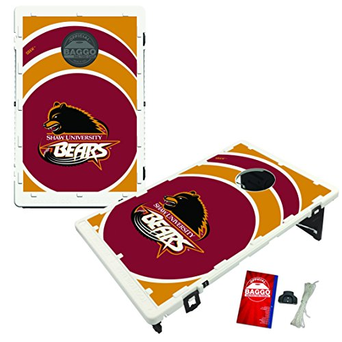 Victory Tailgate Shaw Bears Baggo Bean Bag Toss Cornhole Game Vortex Design by Victory Tailgate (Image #1)