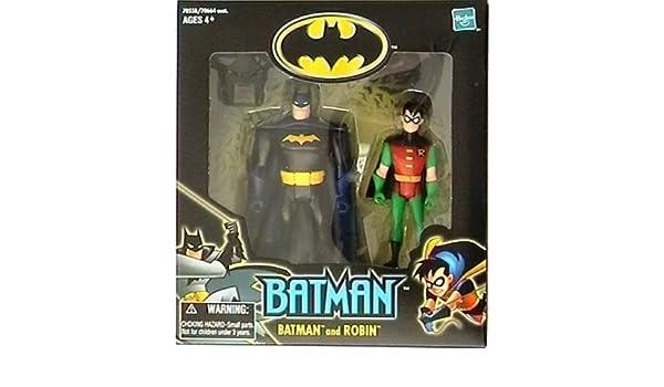 Batman Animated Walmart Exclusive Batman and Robin by Hasbro: Amazon.es: Juguetes y juegos