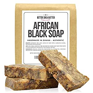 African Black Soap by Better Shea Butter - 1 lb