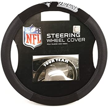 NFL Poly-Suede Steering Wheel Cover