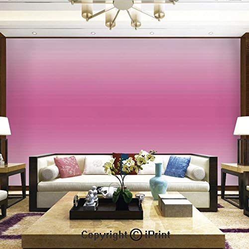 Lionpapa_mural Removable Wall Mural Ideal to Decorate Bedroom,or Office,Fairytale Cotton Candy Inspired Girly Design Room Decorations Digital Modern Art Print,Home Decor - 66x96 inches -