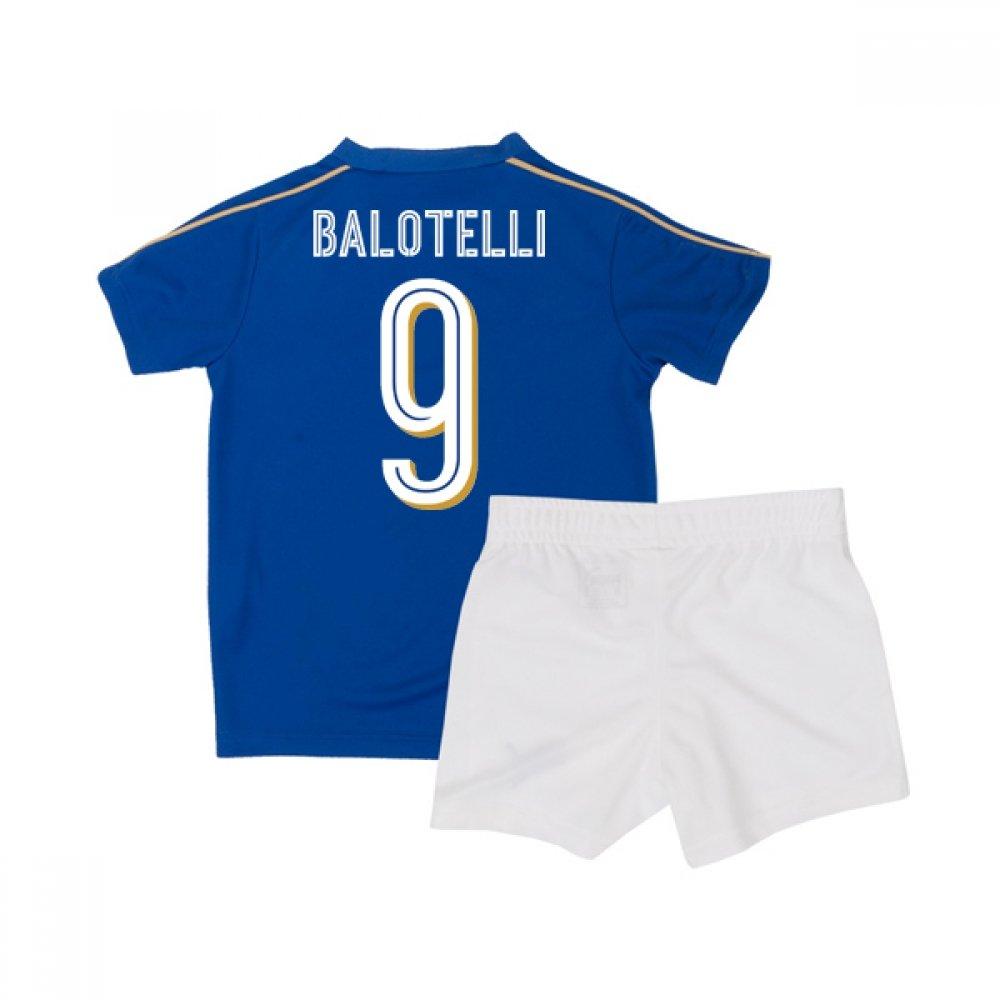 UKSoccershop 2016-2017  Home Mini Kit (Mario Balotelli 9)