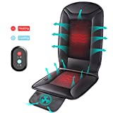 cool accessories for trucks - Naipo Heating Cooling Car Seat Cushion Cover Pad Protector with Double-Zone Breathable 3D Ventilated Holes Pain Relieve Relaxation Universal for Car Chair Truck Home Office