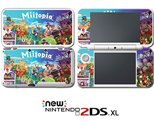 Miitopia Mii Quest Dark Lord Rpg Video Video Game Vinyl Decal Skin Sticker Cover For Nintendo New 2Ds Xl System Console