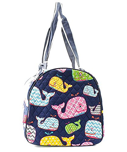 Quilted Whale Shoulder Duffel Bag by NGIL (Image #2)