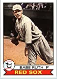 #1: 2016 Topps Archives #101 Babe Ruth Boston Red Sox Baseball Card-MINT
