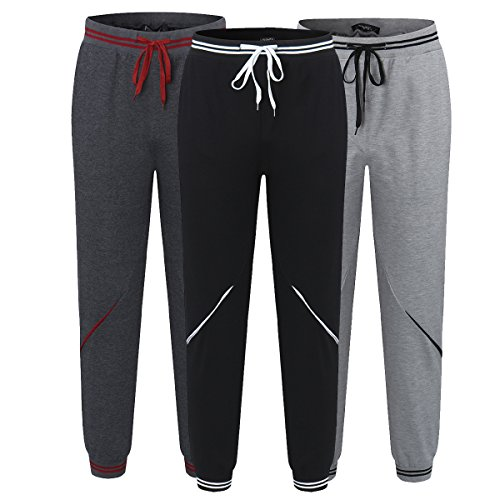 Sweat Pants Jogger Sarouel Pantalon Homme Foncé Sport Modchok Casual Loose Chino Jogging Fitness Gris qxAfpqwn