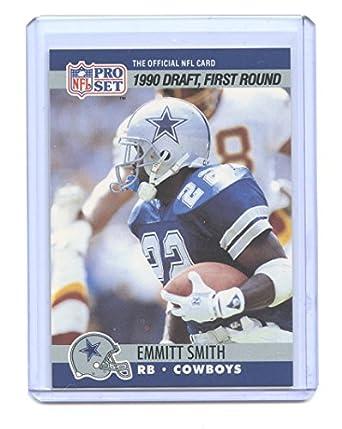 1990 Pro Set 685 Emmitt Smith Dallas Cowboys Rookie Card