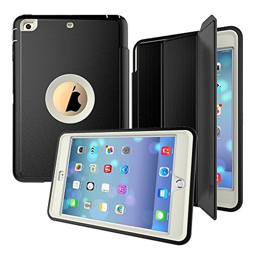 iPad Mini 1 2 3 Case - Three layers of fall protection du...