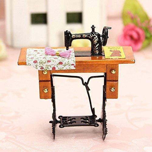 DIVISTAR (TM Toys Toys Dollhouse 1:12 Máquina de Coser de Muebles ...