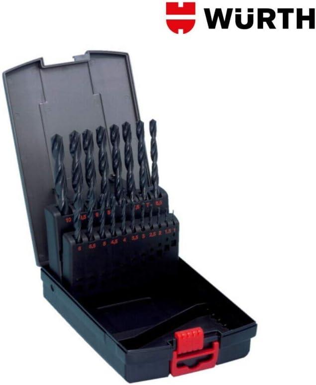 Foret /à couronne HSS Type RN kit WURTH 06344 19 pi/èces