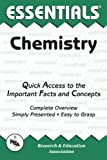 Chemistry Essentials, Research & Education Association Editors, 087891580X