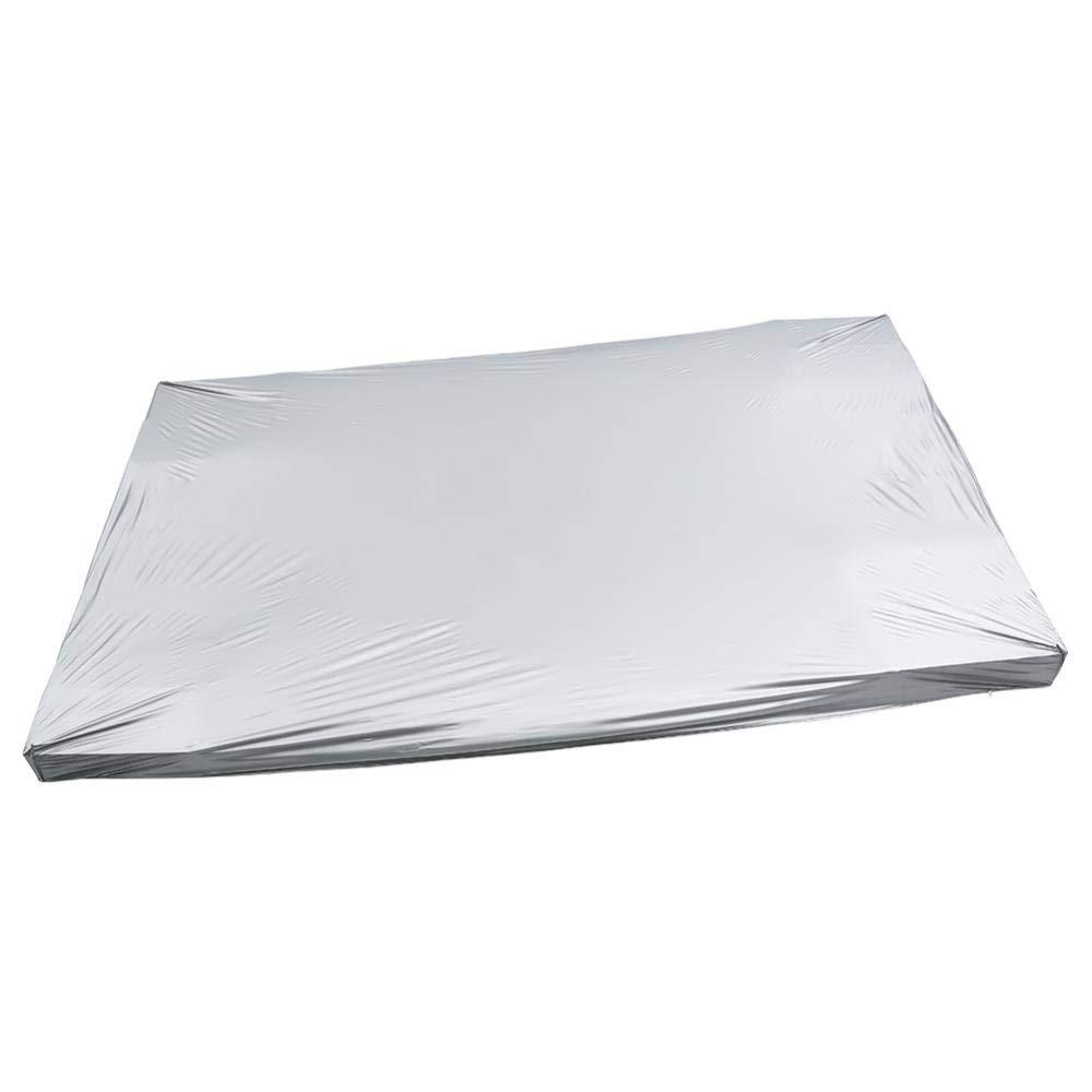 Zerone Couverture de Table de Billard, Couverture de Protection Complète en Tissu pour Table de Billard 8ft, Taille 260 x 170cm
